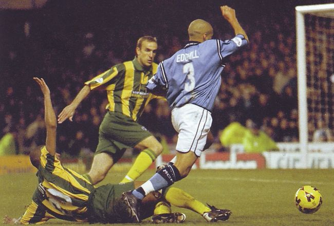 wba home 2001 to 02 edghill sent off diving