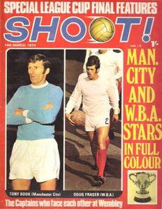 wba league cup final 1969 to 70 shoot