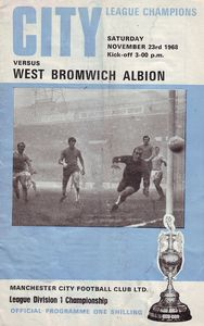 west brom home 1968 to 69 prog