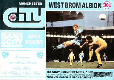 west brom home 1982 to 83 prog