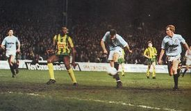 west brom home 1988 to 89 action