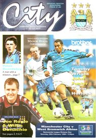 west brom home 1997 to 98 prog