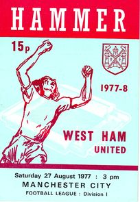 west ham away 1977 to 78 prog