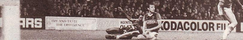 west ham away 1984 to 85 cunningham citys 1st goal