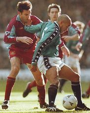 west ham fa cup 1997 to 98 action