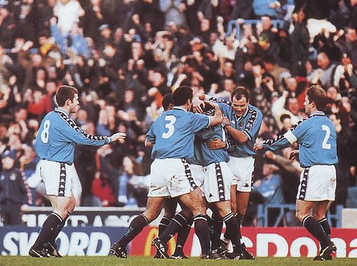 west ham fa cup 1997 to 98 kinky goal