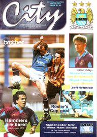 west ham fa cup 1997 to 98 prog