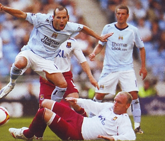 whu home 2008 to 09 action