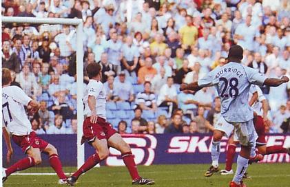 whu home 2008 to 09 sturridge goal