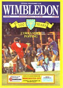wimbledon away 1989 to 90 prog