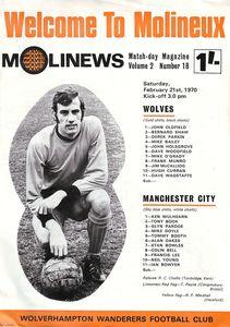 wolves away 1969-70 prog