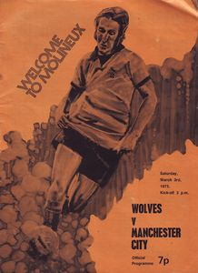 wolves away 1972 to 73 prog