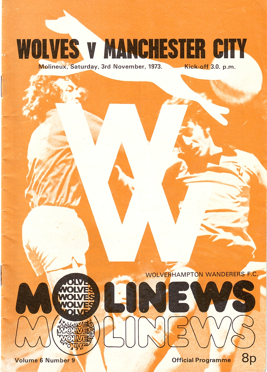 wolves away 1973 to 74 prog