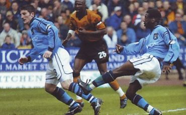 wolves away 2001 to 02 swp goal