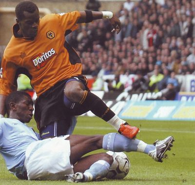 wolves away 2003 to 04 action2