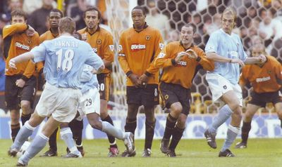wolves away 2003 to 04 action