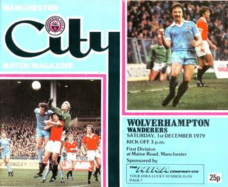 wolves home 1979 to 80 prog