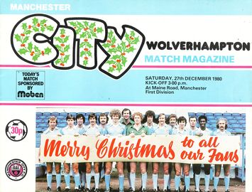 wolves home 1980 to 81 prog