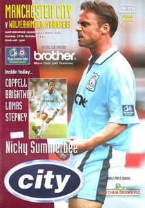 wolves home 1996 to 97 prog